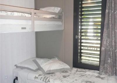 Chambre 2 lits chalet village