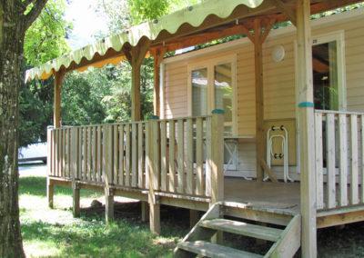 Extérieur mobil-home standard 26 m²