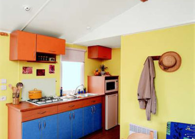 Cuisine équipée mobil-home standard 26 m²
