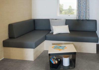 Salon mobil-home premium 34 m²
